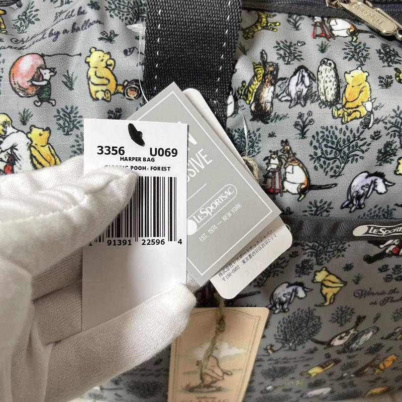[上新]LeSportsac LeSportsac 龍貓聯名款卡通印花女布手提單肩旅行包袋3356