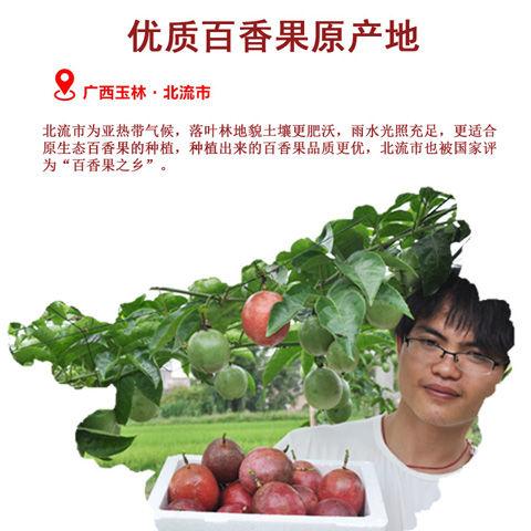 【只发精品果】广西百香果精选大果5斤新鲜水果12个1/3斤酸甜多汁_4
