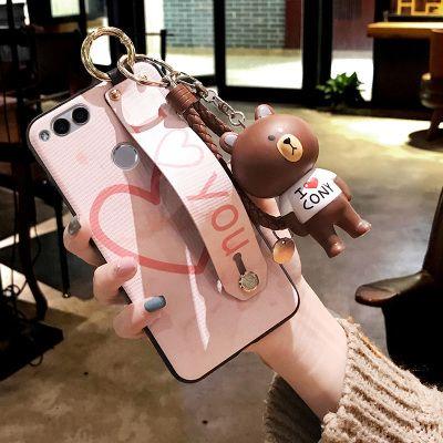 荣耀8x手机壳华为荣耀7x女款6x硅胶畅玩5x个性创意爱心保护套4x潮