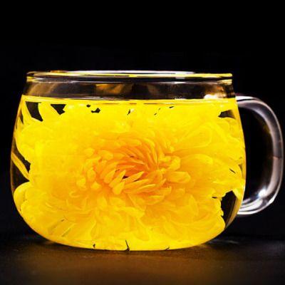 菊花茶金丝皇菊罐装30g一朵一杯天然原色60/70朵大菊花养生帝花茶