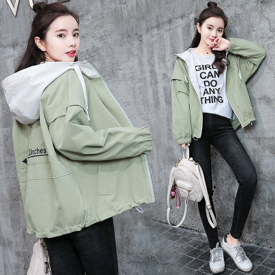 外套少女春秋装2020新款短外套女学生韩版宽松外衣服小清新棒球服