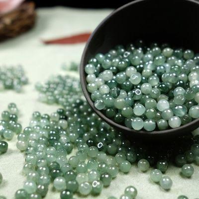 天然正品玉石散珠批发石英岩玉diy手工制作材料手链串珠饰品配件