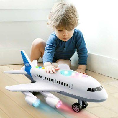 宝手推飞机大玩具车儿童爬行挖掘号水晶鞋智益冰激凌带音乐微波炉