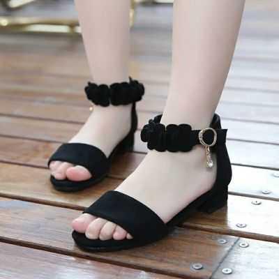 女童凉鞋【亲子鞋】女鞋成人款夏季儿童女学生凉鞋高跟公主凉鞋