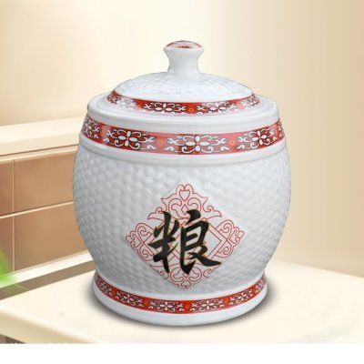 面粉油缸收纳茶饼米缸米桶盖斤收纳箱储物罐收藏密封储物罐桶桶