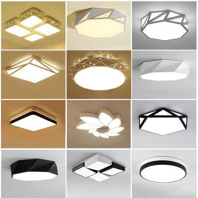 卧室灯吸顶灯led灯具温馨房间灯简约现代北欧宜家个性创意灯饰