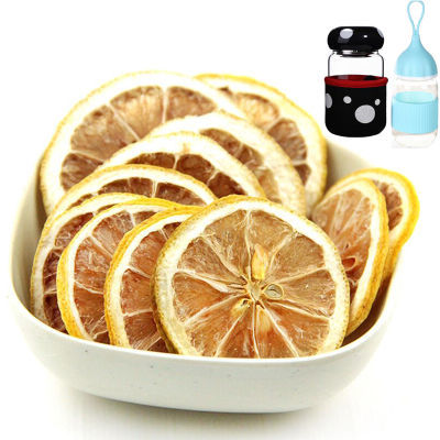 买二送杯安岳柠檬片泡水柠檬茶干片新鲜柠檬片花茶花草茶非冻干