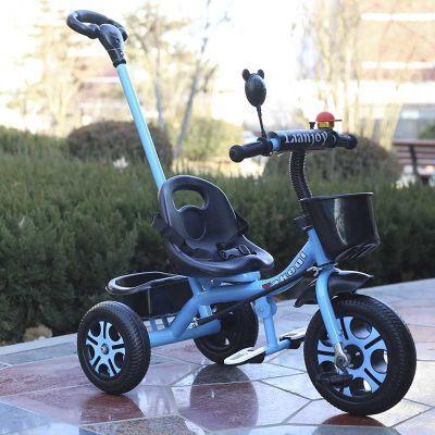 新品儿童三轮车脚踏车小孩单车1-3-6岁手推车男女玩具童车自行车