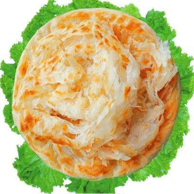 豫达园原味手抓饼25片*90g早餐煎饼面饼皮批发实惠家庭装