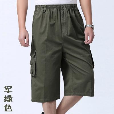 富贵鸟短裤男中年男士40-50岁中老年七分裤宽松外穿大码沙滩裤爸