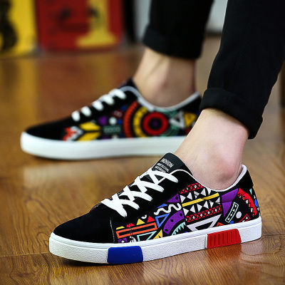 夏季帆布鞋男韩版潮流男士板鞋透气男鞋学生鞋子男生运动休闲鞋潮