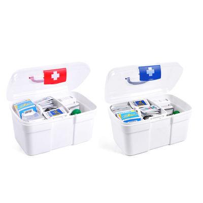 家庭特大号医药箱多层急救药品收纳保健箱家用塑料药箱盒子