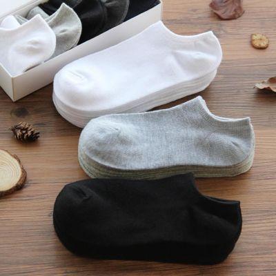【3/5/10双】袜子女韩版短袜男士浅口船袜男女袜学生袜夏季隐形袜
